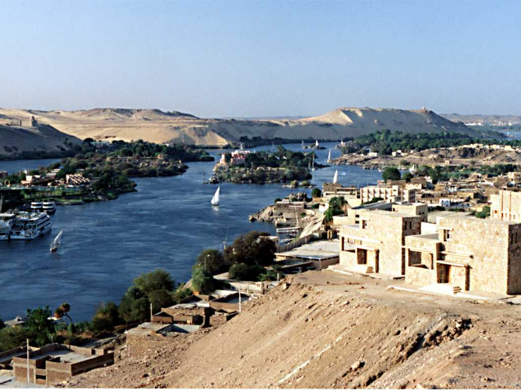 View over the City of Aswan